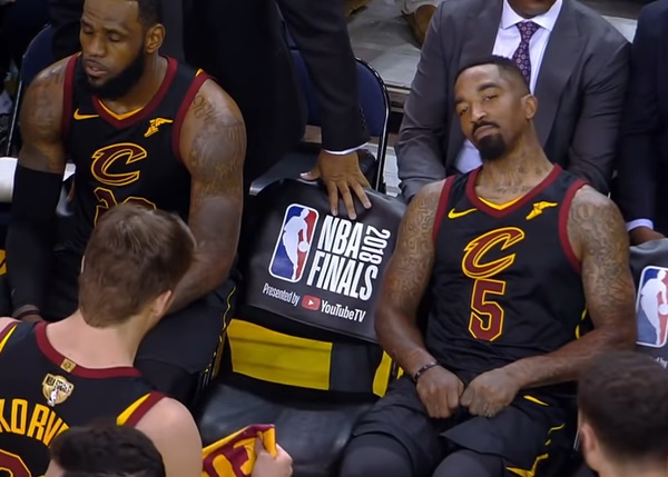 JR Smith Finally says Goodbye to Los Angeles Lakers LeBron James King James