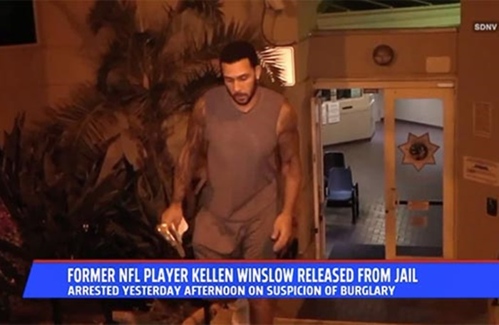 Kellen Winslow Jr From NFL TE to Common Burglar?