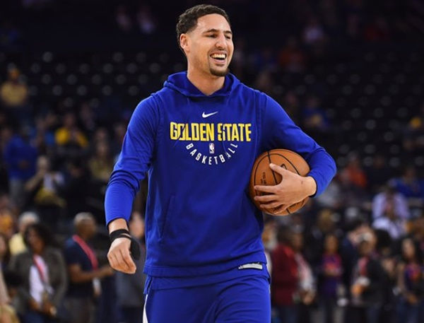 """Klay Thompson's Leading Lady CLAPS BACK """"What competition?"""""""