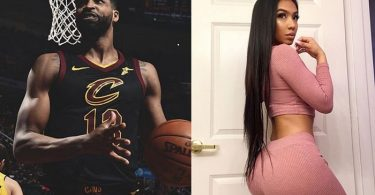 Tristan Thompson Side Piece Lani Blair Ready to Cash In