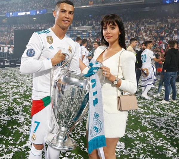 Cristiano Ronaldo Put a Ring on It