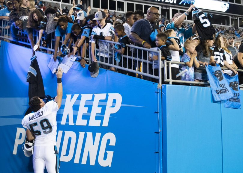 Cam Newton Gives Panthers Fans Some Razzle Dazzle