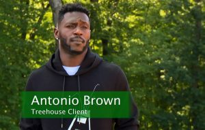 Antonio Brown Gets A City Skybox Treehouse Fit for a King
