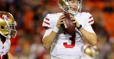 C. J. Beathard Replacing Jimmy Garoppolo as Ex Laughs at ACL Injury