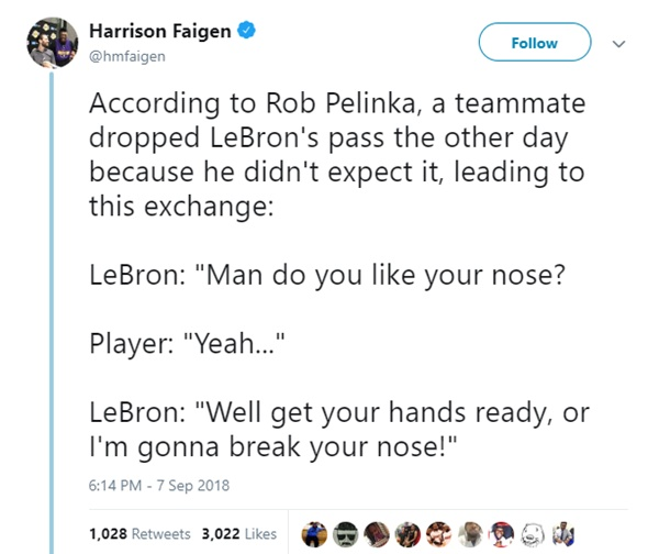 Did LeBron James Threaten to Break His Teammates Nose?
