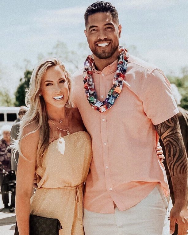 Detroit Lions TE Levine Toilolo Living Best Life with Stephanie