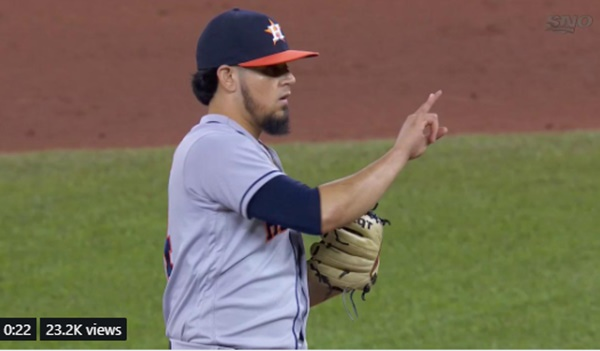 MLB: Astros Roberto Osuna Booed; Mariners Cano Blasts 10th homer; Angels Jose Briceno walk-off homer