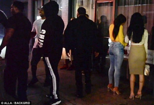 Tristan Thompson Touchy Feely on Another Woman; Khloe Looks Foolish
