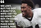 Raiders Defensive DE Bruce Irvin Ready to Make Babies