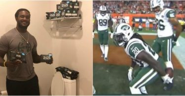 Jets RB Isaiah Crowell Lands Dude Wipes Endorsement Deal
