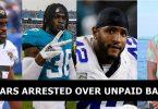 4 Jacksonville Jaguars Players Arrested Over $65k Unpaid Bar Tab
