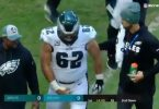 Eagles Center Jason Kelce Baby Maker Receives Damaging Hit