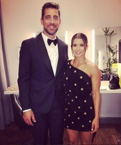 Aaron Rodgers Feeling Pressure from Danica Patrick?