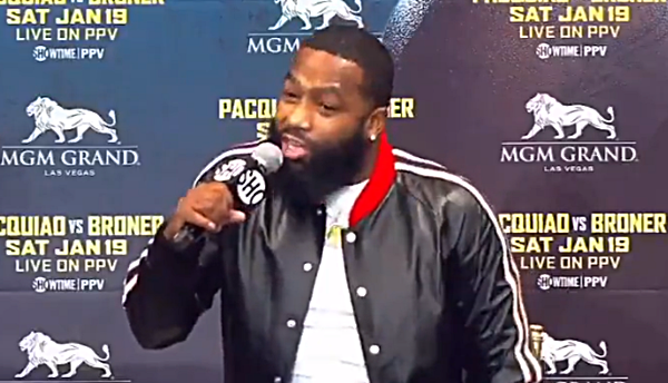 Adrien Broner Pissed When Asked About Floyd Mayweather