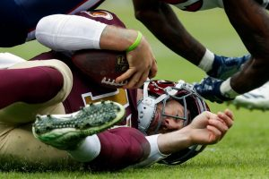 Alex Smith Gruesome Leg Injury NOT Career Threatening