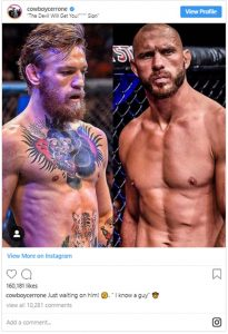 "Donald ""Cowboy"" Cerrone Wants Conor McGregor Fight"