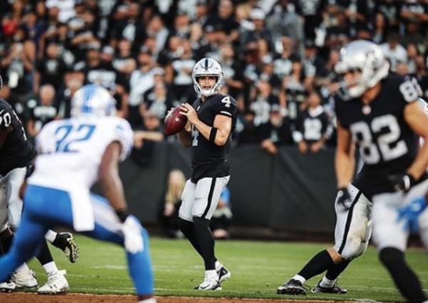Raiders QB Derek Carr Trying to Mess Up Draft
