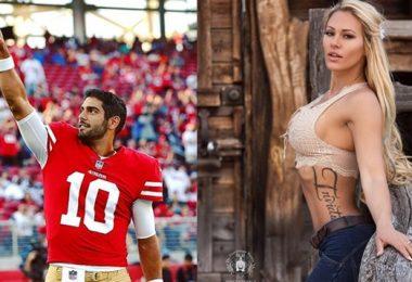 49ers QB Jimmy Garoppolo BLASTED by Playboy Model