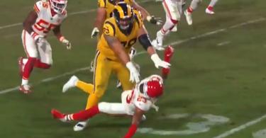 Rams' Rob Havenstein Went FULL THROTTLE on Kendall Fuller