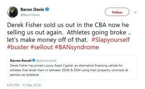 Baron Davis SLAMS Derek Fisher Stealing from NBA Stars