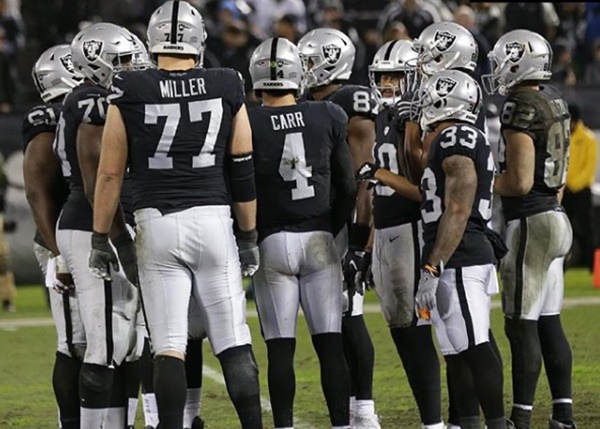 Raiders Turning Backs on Oakland for England