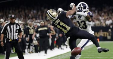 NFL Admit Refs Blew Call in Saints vs. Rams