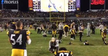The Moment The Steelers Found out They're Out of the Playoffs