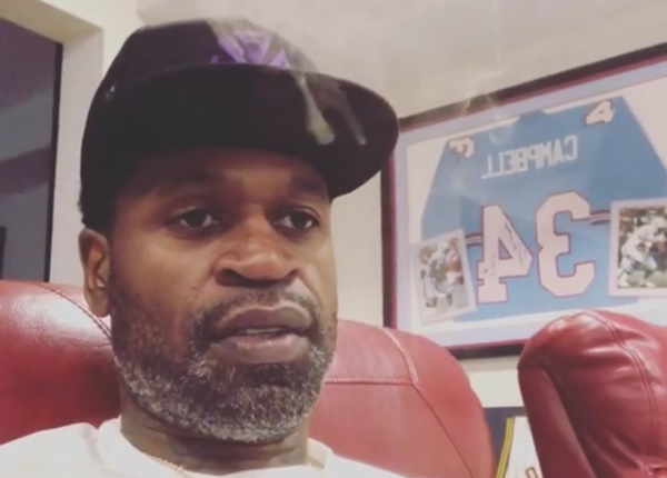 "Former NBA player Stephen Jackson Calls Darryl Strawberry a ""Coke Head"""