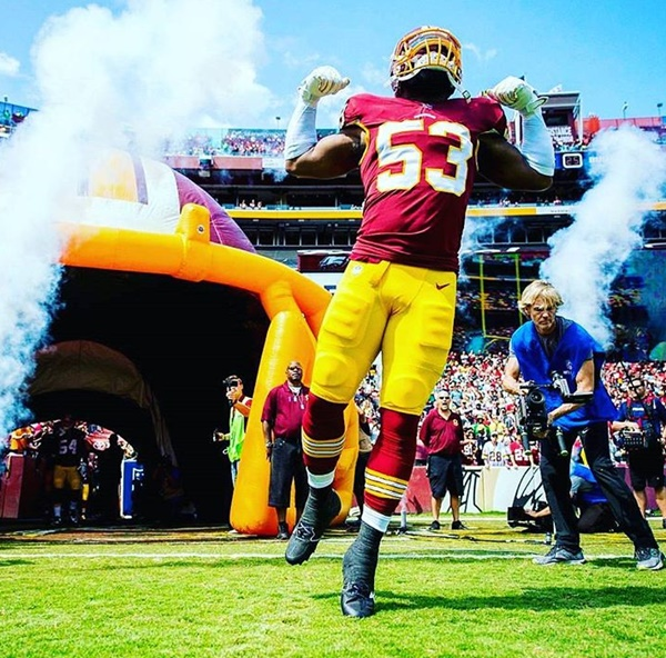 Redskins Linebacker Zach Brown Exposed by IG THOT