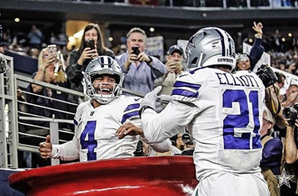 Is Ezekiel Elliott + Dak Prescott Bromance Over