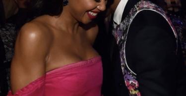 Klay Thompson GF Laura Harrier Caught Flirting with Michael B Jordon
