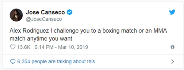 Jose Canseco: A-Rod Been Cheating on JLo + He's Sure of It