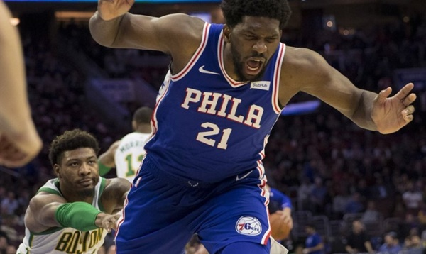 Marcus Smart Ejected for Shoving Joel Embiid