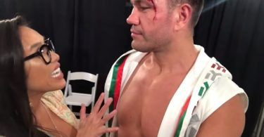 Boxer Kubrat Pulev Forcefully Kisses Reporter