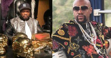 50 Cent Clowns Floyd Mayweather Again