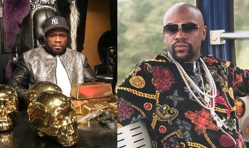 50 Cent Clowns Floyd Mayweather Again