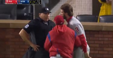 Bryce Harper Ejected Going Absolutely Ballistic on Umpire