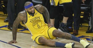 DeMarcus Cousins Leg Injured; Limps Out Of Game