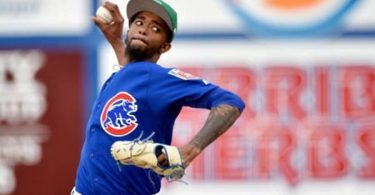 MLB Investigating Racist Messages Sent to Cubs' Carl Edwards Jr.