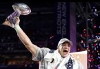 Gronk Leaves His Mark on The Patriots 6th Lombardi Trophy