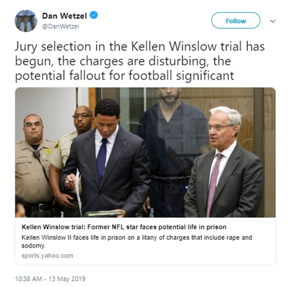 Ex-NFL Star Kellen Winslow Facing Life In Prison