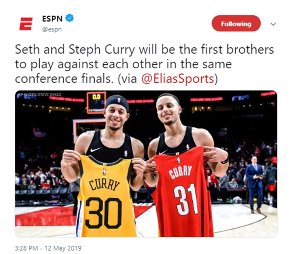 Steph vs. Seth Curry's Parents Flipping Coin on Who to Root For