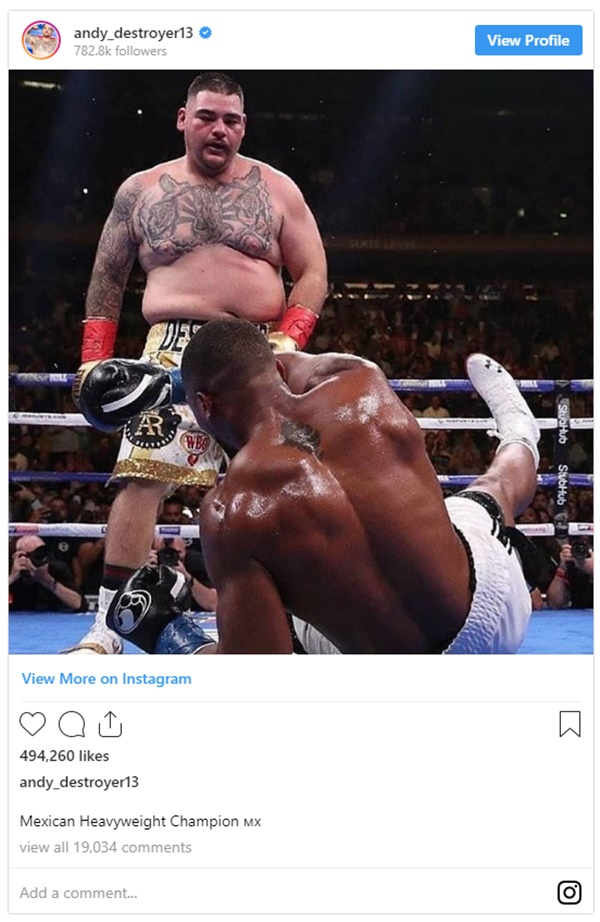 Andy Ruiz Jr. CLAPS BACK at ESPN's Stephen A. Smith for Body-Shaming
