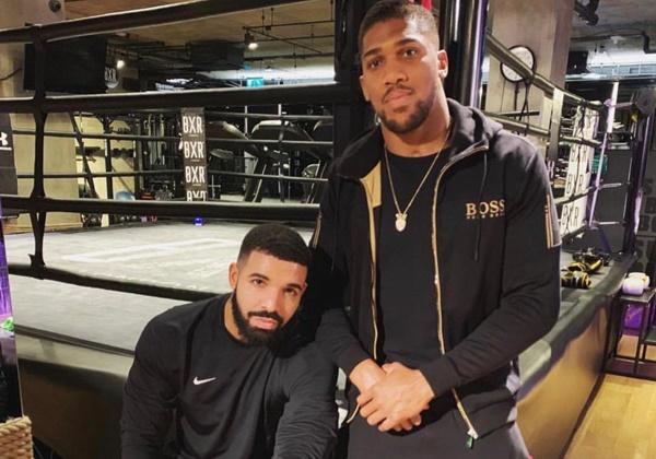 Social Media BLAMES Dreaded Drake Curse Why Anthony Joshua Lost