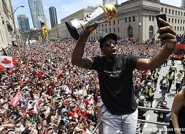 Does This Mean Kawhi Leonard Is Remaining A Raptors Star