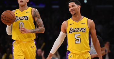 Pelicans Josh Hart Trash Talking Lakers Kyle Kuzma