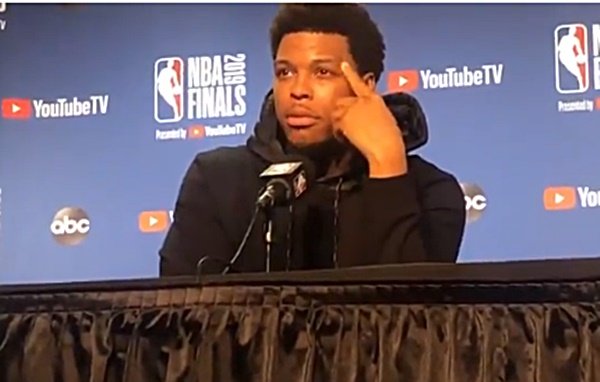 Kyle Lowry: There's No Place for Fan Touching + Saying Vulgar Things to Players