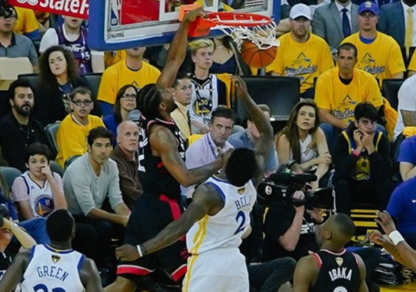 The Raptors Were Unstoppable Against The Warriors in Game 3