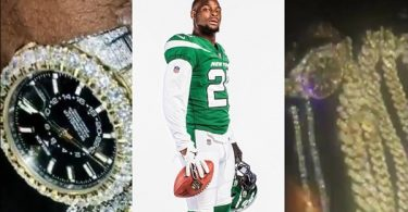 Jets Le'Veon Bell Robbed By Two IG Chicks