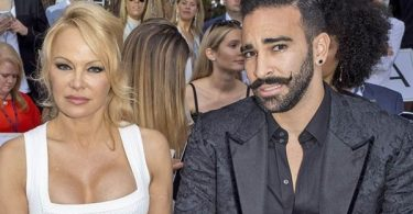 Pamela Anderson Split with Soccer player Adil Rami